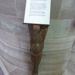 Sir Richard's spare leg (wooden)