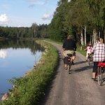 Sjotorp Bicycle Rental, Gota canal