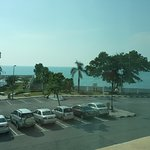 The view of the ocean from the room!