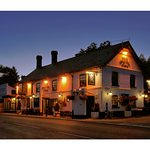 The White Lion at Night