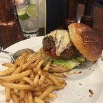 The Silk & Grain burger