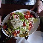 Great greek salad. Fresh ingredients. Excellent.