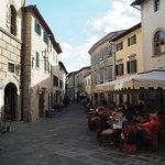 Castellina main street