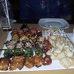 Mixed non-veg platter