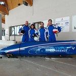 Olympic Experience à la Plagne - bobsleigh de compétition