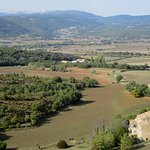 Along the route from Roussillon to Mont Ventoux