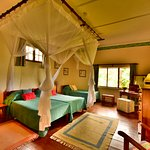 Bedroom at Loldia House, Lake Naivasha.
