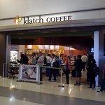 morning line at Klatch Coffee