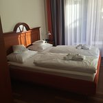 Der Schlafteil der Junior Suite