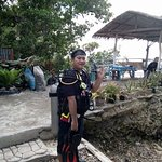 Sta.filomena official on a discover scuba diving experience