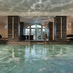 Indoor swimming pool at The Garden Spa by L'OCCITANE