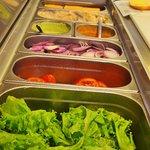 Salada fresquinha todos os dias