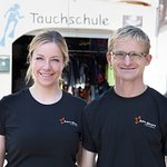 The Owners of the Dive Center