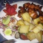 Tandoori butterfish with tapioca