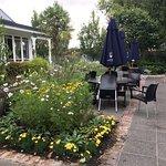 More garden seating