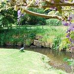 The River Salwarpe flows through Webbs Riverside Gardens