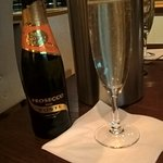Complimentary Prosecco for Birthday