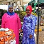 Vendor women at National Mosque