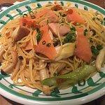 Spaghetti and Pizza Jolly Pasta Picture