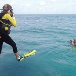 Safe diving always