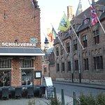The restaurant t' Schrijverke