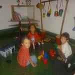 Le lieu des enfants toujours bien appreciée!!!