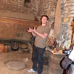 in 500-600 years old wine cellar