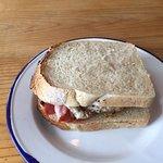 Egg and bacon sarnie