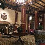 Beautifully decorated lobby