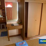 Double-Room Amenities with Large Closet