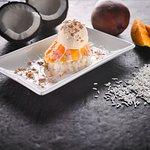 Our Mango Sticky Rice Dessert.