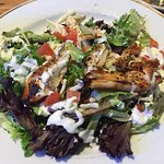 My grilled chicken salad!
