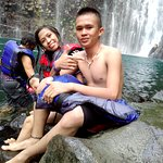 tinago falls is one of the best waterfall in the philippines .the water is crystal clean and cle