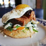 Pork Belly Biscuit (breakfast)