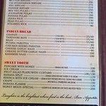 Abracadabra Holiday St, Calangut, Goa, India (menu)