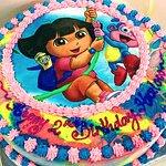 themed birthday party celebration ice cream cake everton park