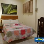 Double-size Single Bed Guest Room with External Bathroom