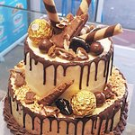 tower ice cream cake birthday celebration everton park