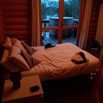 Double room leading onto the decking and hot tub area