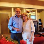 Outstanding hosts, Robert and Christine Koller.