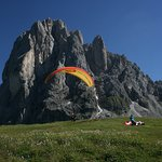 Tandemflying in the hearth of Dolomites