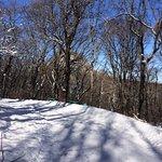 Терренкур и вид на гору Развалка, 17 февраля