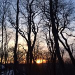 Закат в феврале