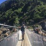 Foto de Puente Colgante del río Storm