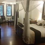 My picture doesn't do the relaxation of the room justice. It is a BEAUTIFUL boutique hotel. LOVE