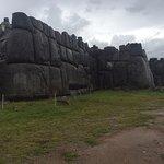 View of Inca walls