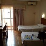 Vistas dela habitación  hotel Anfora de Melilla