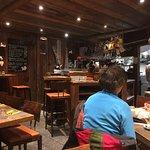 Small bar / restaurant area.