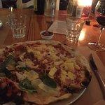A half/half pizza.