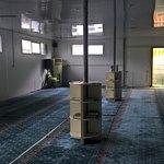 Left view inside masjid